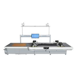 IC350C/380C/450C/480C CNC multi-layer PU/ fabric cutting machine (conveyor type)