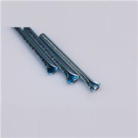 开口钢管ZX001  优质鞋跟加强管  卓鑫五金厂家直销批发钢钉 可定制