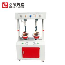 压底机|立式气压双头万能压合机|沙隆机械