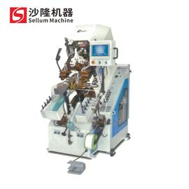 SL-N738MA|电脑记忆控制自动上胶前帮机(九爪)|沙隆机械