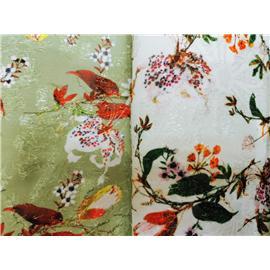 广州佳运时尚提花印花布