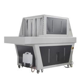 R90 touch screen controlled steam heating and setting machine