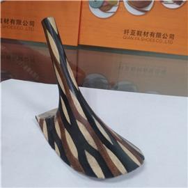 纤亚鞋材 各种不规则花式层皮跟10 层皮 大量现货 质优价实