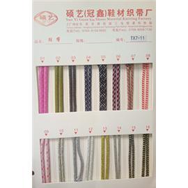 TX7-11时尚鞋带,各色鞋带,织带,松紧带,烫钻织带,鞋带织带厂家,厂家直销