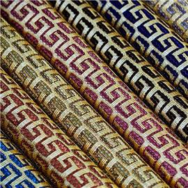 XQ6096时尚蕾丝网布 |烫金布 |仿皮绒五枚缎
