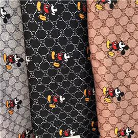 Improve the quality assurance of direct sales of new Mickey cloth shoes fabric