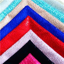 XQ6093时尚蕾丝网布 |烫金压胶布 |莱卡布