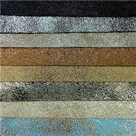 XQ9028烫金鞋用面料 质量保证 |格力特面料 |仿皮绒五枚缎