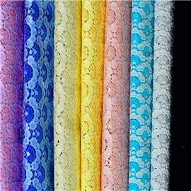 XQ6098时尚蕾丝网布厂家直销 |烫金布 |仿皮绒五枚缎