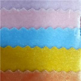 Multicolor striped shoe fabric