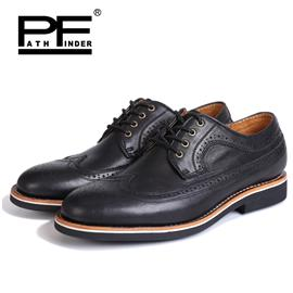 patnfinder春夏新款固特异商务休闲鞋英伦潮流布洛克商务休闲鞋