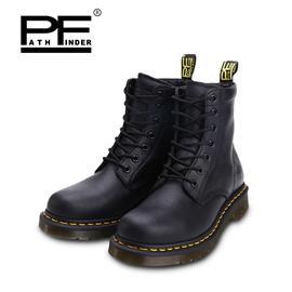 pathfinder6孔短筒马丁靴男 PF固特异英伦复古潮流牛皮大头工装靴