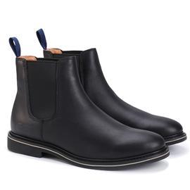 pathfinder复古新款时尚流行切尔西靴男士绅士