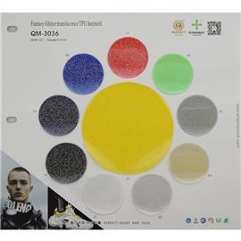 QM-3036|Glitter translucence TPU hot/melt|舒耐美新材料