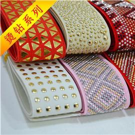 烫钻织带、松紧带、编织带