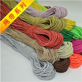 Rope type ribbon, woven belt, special ribbon