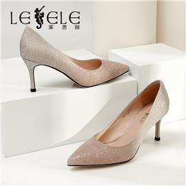 LESELE|Stiletto professional banquet high heels female  la6438