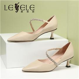 LESELE|Shallow mouth Sexy Spring pointed single shoes female | la6287