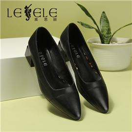 LESELE|Shallow mouth leather women