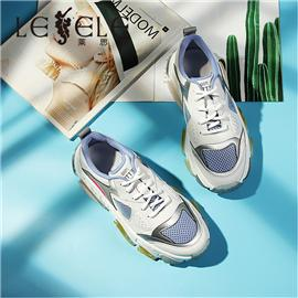LESELE|Lace-up sports loafers and thick-soled pop shoes | ma9257