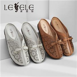 LESELE|Slippers national style mother shoes|LE6049