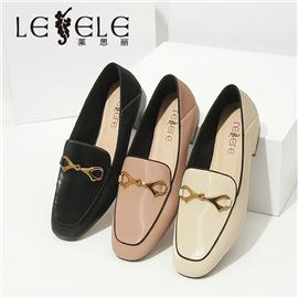 LESELE|Small leather shoes, women's soft leather loafers, women's one-step women's shoes (la6791)