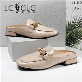 LESELE|莱思丽2021夏季新款时尚优雅潮流羊皮橡胶底女式凉鞋 LE7932