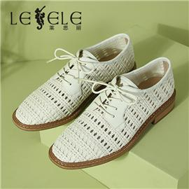 LESELE|Casual shoes hollow knitting leather fashion sandals|LA7089