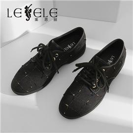 LESELE|Beijing cloth shoes fashion shoes casual shoes lace up women's shoes|LA5721