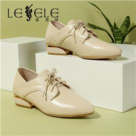 LESELE|Women's fall edition with leather platforms | LC6929