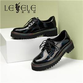 LESELE| Women's English muffin sole, Lefu shoes, women's fashion shoes, single shoes, la6877
