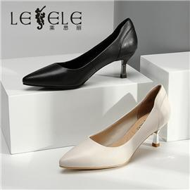 LESELE|2020 cat heel pumps with 100% pointed tips | LA5931