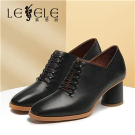 LESELE|Women's all-around pointy high heels with skirt | la6039