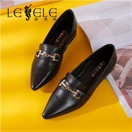 LESELE|莱思丽鞋子女新款女鞋百搭网红平底单鞋女春款秋款豆豆女鞋|LA6940