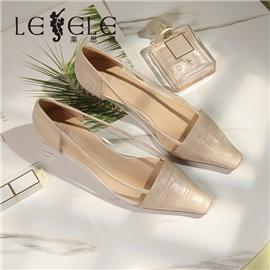 LESELE|Low heeled leather pumps | MA5158