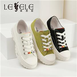 LESELE|Spring trend all-around single shoes, flat sole, thick sole, casual shoes  la6855