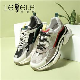 LESELE|Casual shoes new net red lace up sneakers|LA6811