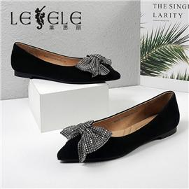 LESELE|莱思丽2021秋季时尚优雅舒适时装鞋LC12195