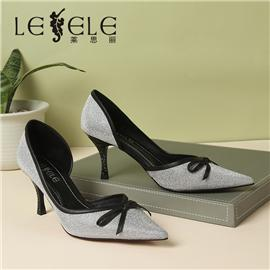 LESELE|Empty shoes, leather, shallow stilettos, red shoes | ma9297