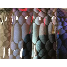 利文超纤1.0厚度鞋包用蛇纹TPU