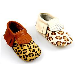 贝丽来童鞋厂V.SUNNY荔枝纹牛皮拼波点马毛面料猪头层里料真皮大底宝宝鞋