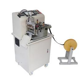 大型气动冷热转头切带机 厚料专用|威峰缝纫科技