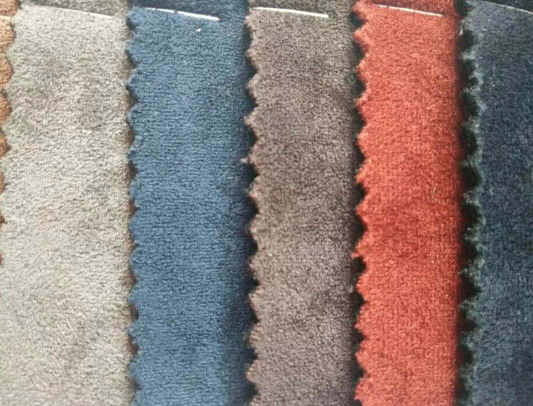 仿羊猄布 羊京绒 绒面皮