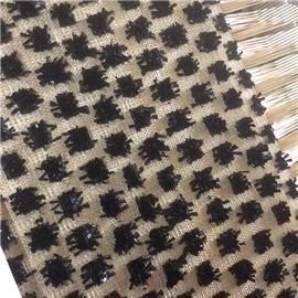 新品推荐 天然草席  手工编织  十字编织  皮革编织
