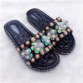 荷花|鞋面饰品|意昂饰品
