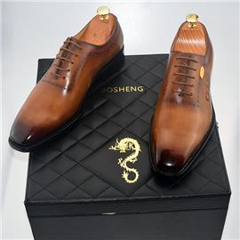 秋冬新款上市男士商务正装皮鞋 高端时尚大气正品皮鞋