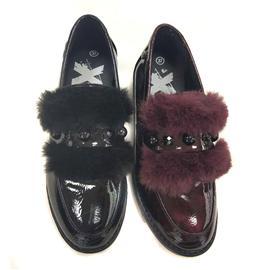 时尚休闲皮鞋 秋冬女士皮鞋