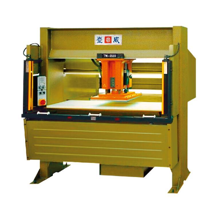 TW-588/3压头移动式液压裁断机(带传感器)-588|台威机械