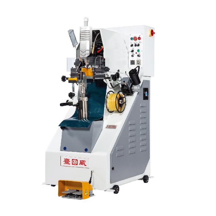 新型全自动上胶油压后帮机-589CM|台威机械