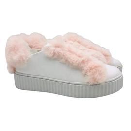 女士休闲 毛毛鞋加绒低帮鞋丨湘鼎鞋业